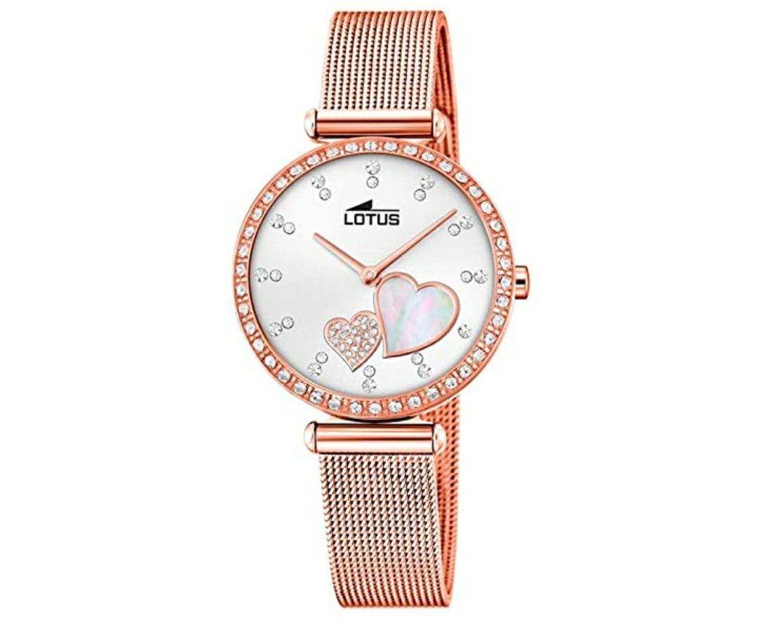 Lotus Reloj para mujer de Cuarzo con Correa en Acero Inoxidable 18620/1