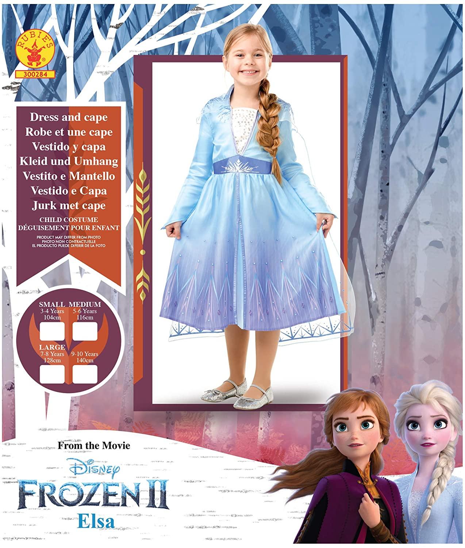Disfraz de Elsa Travel Frozen 2 (diferentes tallas)
