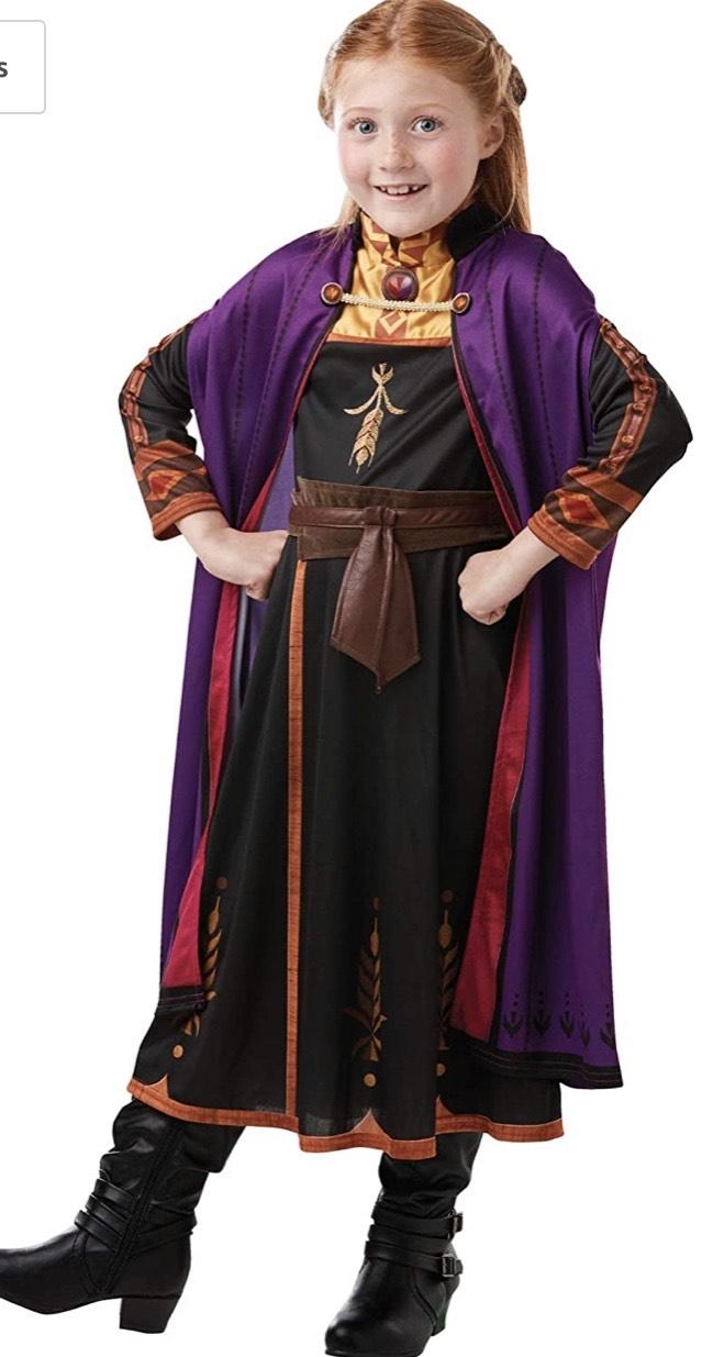 Talla S disfraz Frozen 2 Classic Disfraz Anna Trave