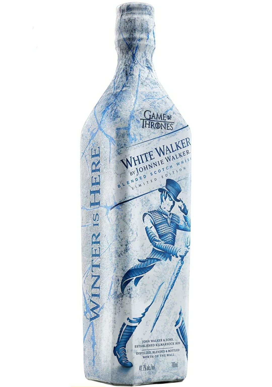 Johnnie Walker White Walker Whisky Escocés, Edición limitada Juego de Tronos - 700 ml