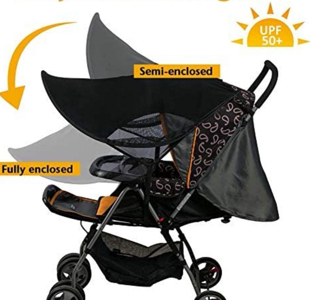 Toldo Protector Solar Universal para Carrito Bebé (Precio Mínimo)