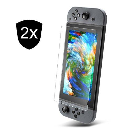 2 x Protector de pantalla de Nintendo switch
