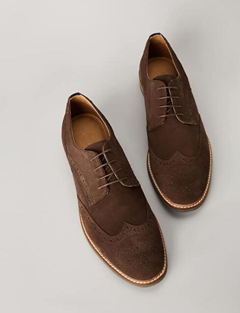 TALLA 45 - find. Zapatos de Cordones Brogue Hombre