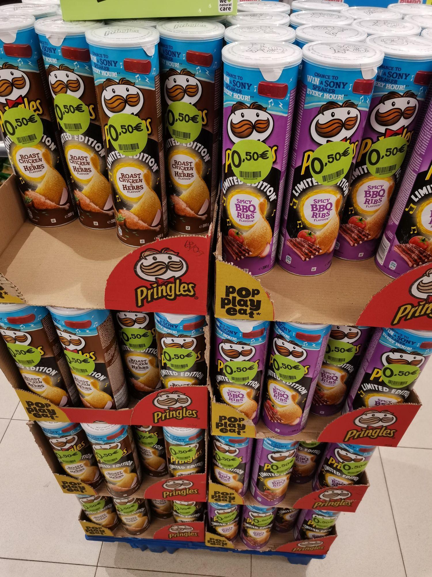 Pringles a 0.50 lata 200g. Primaprix Salamanca