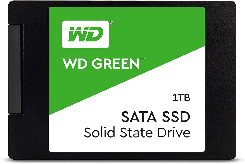 "Western Digital WD 1TB Verde Internal SSD 2.5"" SATA"