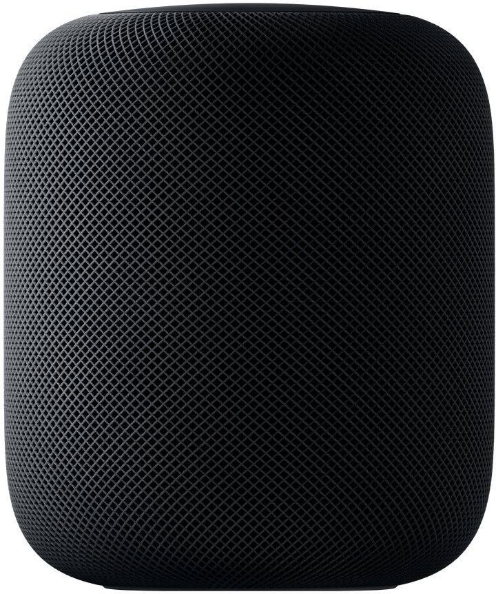 HomePod de Apple en color negro