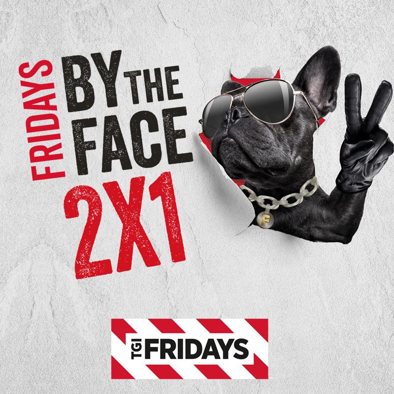 2x1 en Cenas Fridays