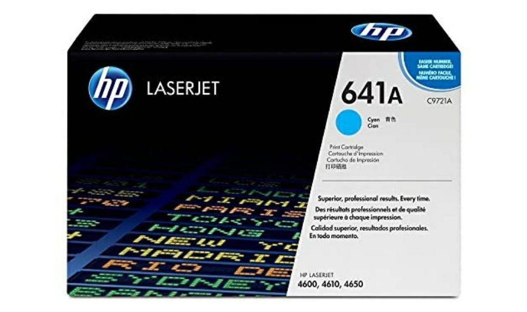 HP C9721A - Cartucho de tóner original LaserJet HP 641A cian