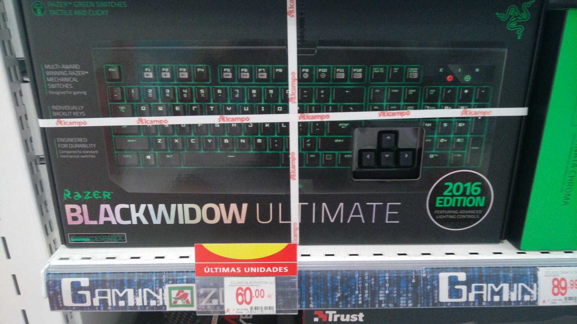 Teclado mecánico Razer BlackWidow Ultimate (Alcampo de Gijón)