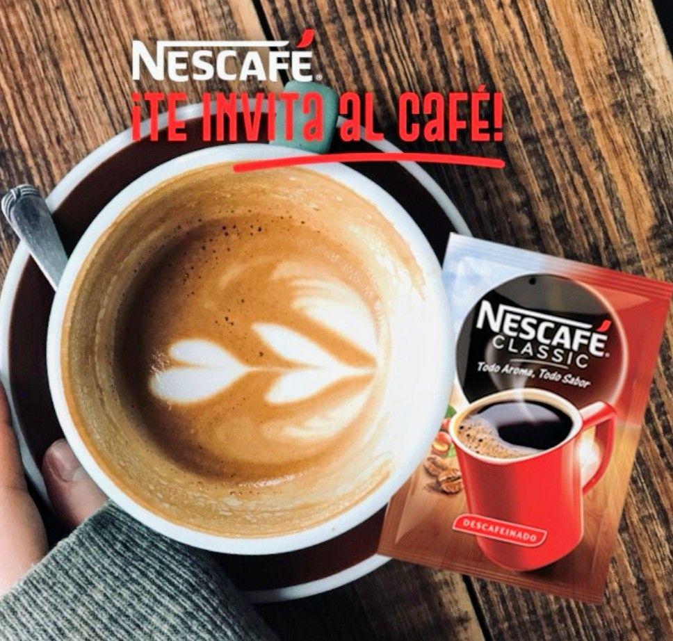 Nescafé te invita a un café en tu bar de siempre.