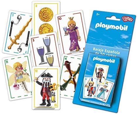 Fournier. Playmobil-Baraja Española Infantil