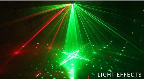 Lámpara de luces láser DMX