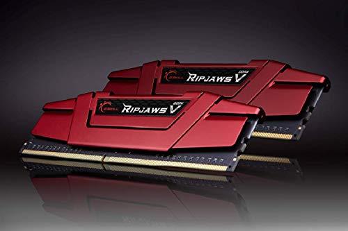 *Mínimo* G.Skill Ripjaws V CL19 (16 GB, 2 x 8 GB, DDR4, 3600 MHz, 288-pin DIMM, Rojo)