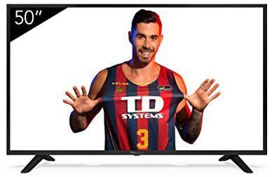 Televisiones Smart TV 50 Pulgadas 4K Android 9.0 y HBBTV