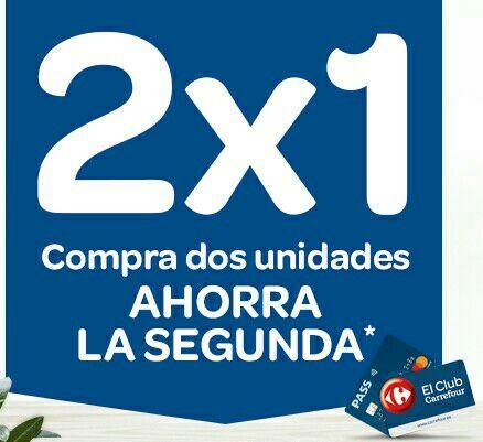 2x1 Carrefour Ahorra la Segunda en el Chequeahorro