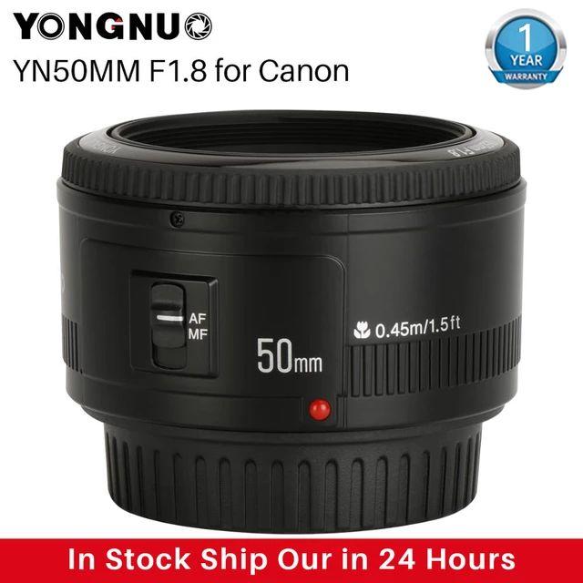 Objetivo para CANON 50mm 1.8 YONGNUO