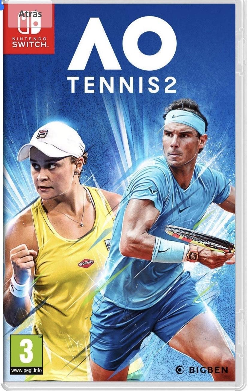 AO Tennis 2 NSW [versión española]nintendo switch