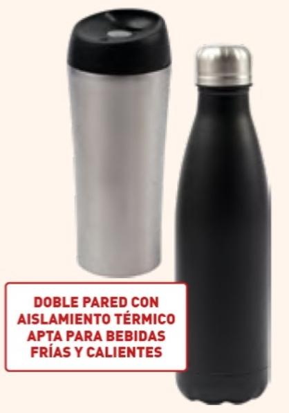 Botella o vaso térmico 500ml/300ml en aldi