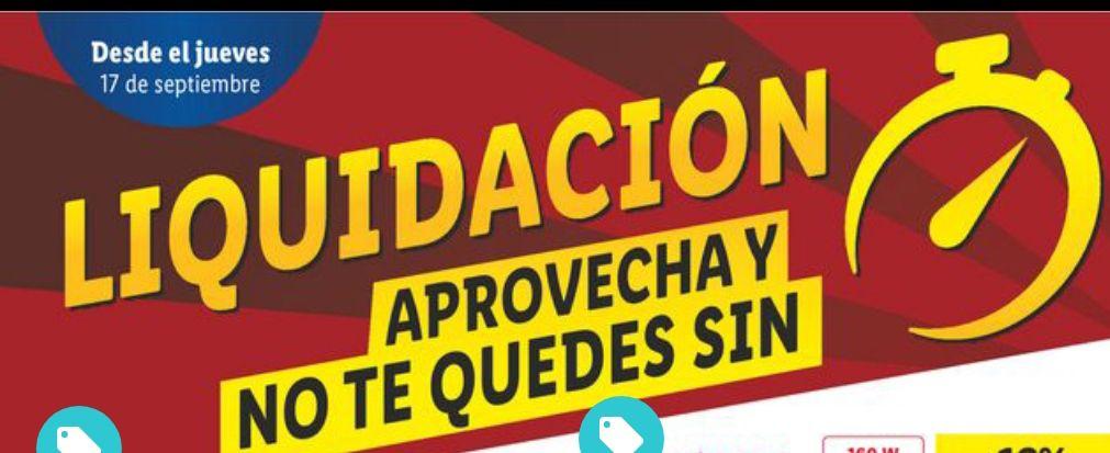 Lidl Ofertas Liquidación productos en tienda
