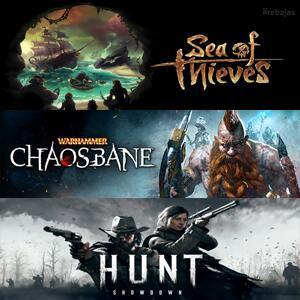 XBOX :: Juega gratis Sea of Thieves, Hunt Showdown y Warhammer: Chaosbane