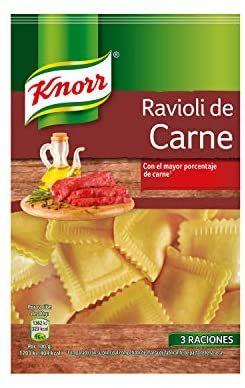 Raviolis Knorr 250g por 0,95€ (compra recurrente)
