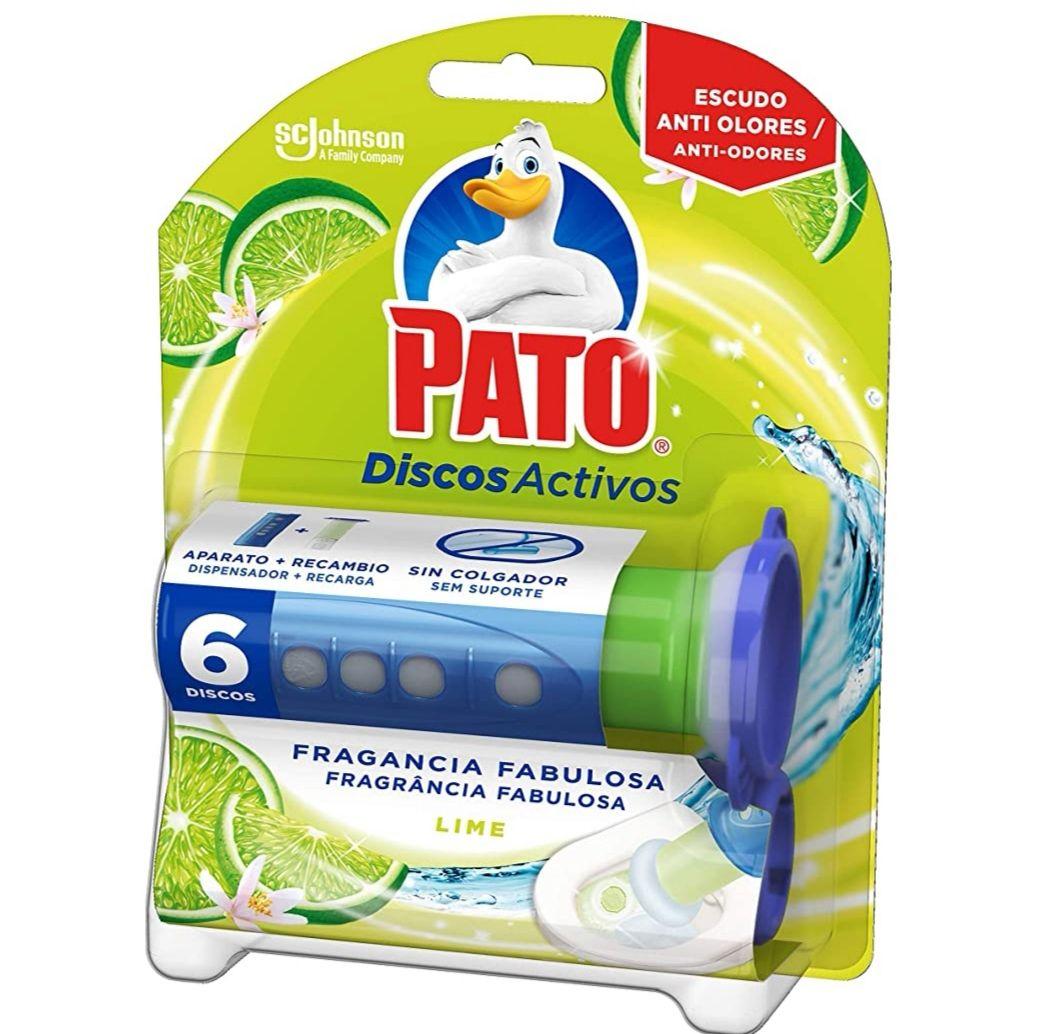 PATO - Discos Activos WC Lima, aplicador y recambio con 6 discos (Compra Recurrente)