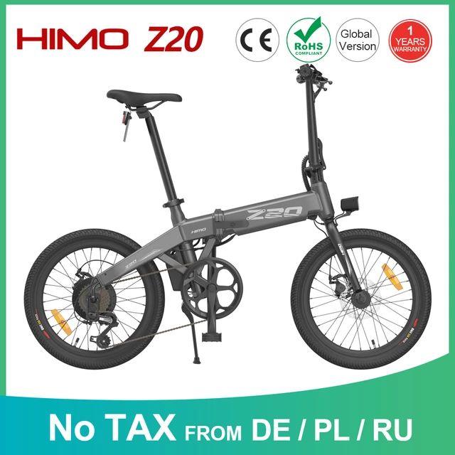Bicicleta xiaomi himo Z20(80km autonomía)Desde Europa