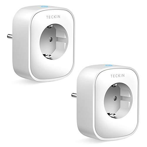 2X Enchufes Inteligentes Wifi compatibles con Alexa