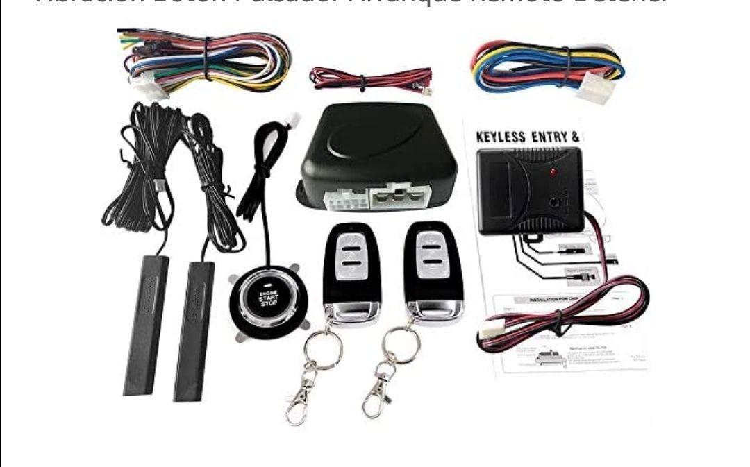 KKmoon Interruptor Kit de Sistema de Entrada Sin Llave para Coche
