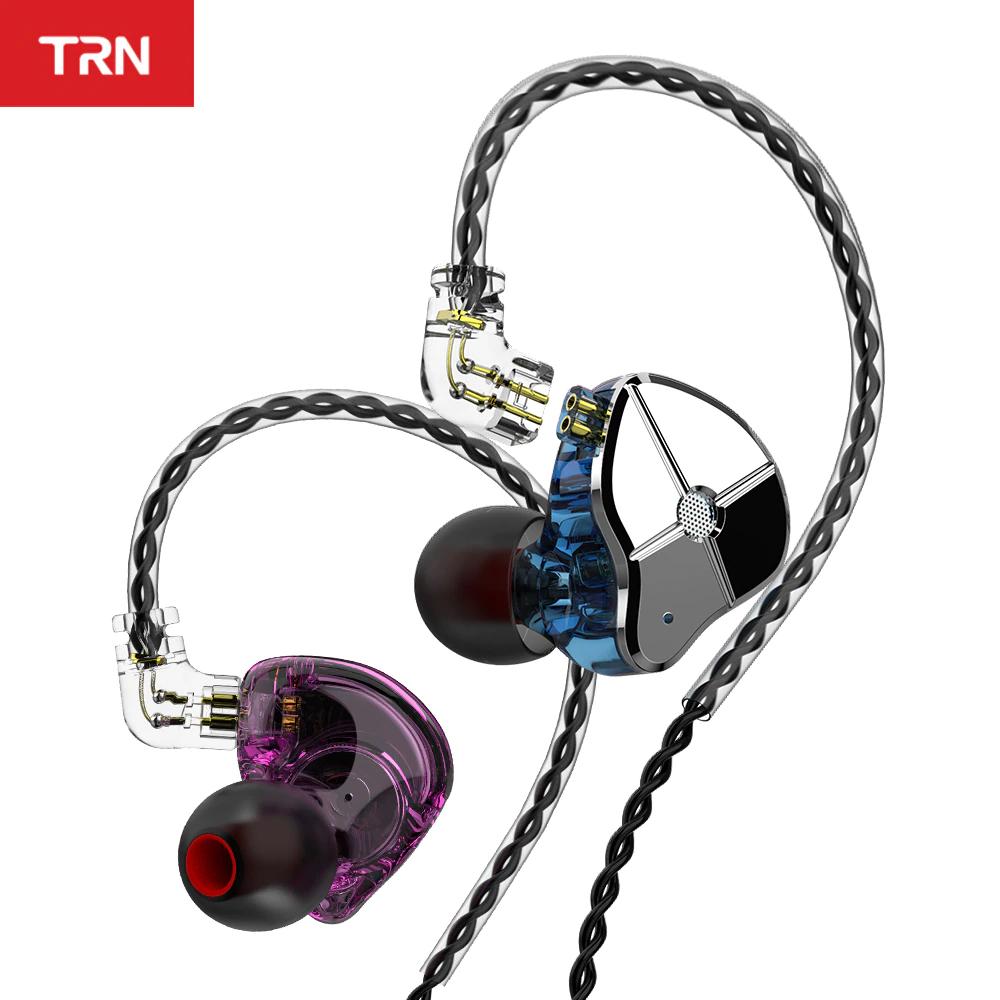 Auricular híbrido TRN ST1 (1dd+1ba) + Funda y tips de Espuma