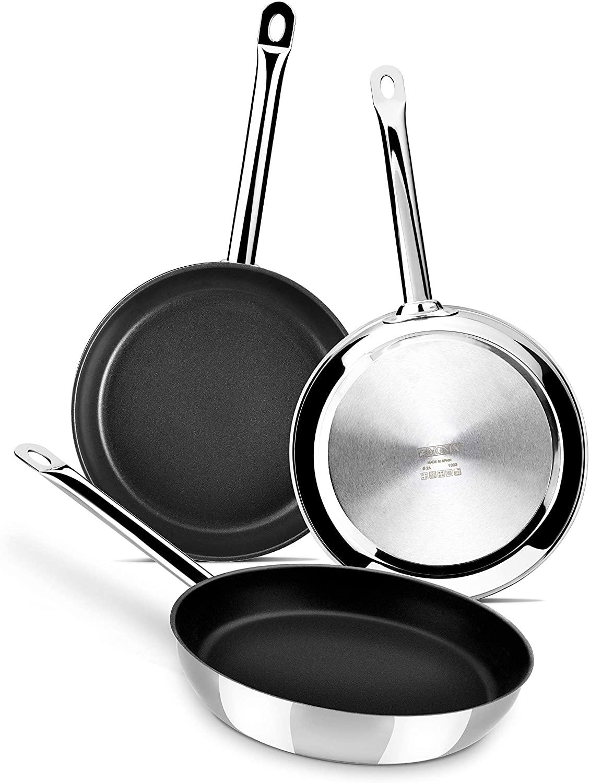 Monix Chef Set de 3 sartenes solo 51.9€