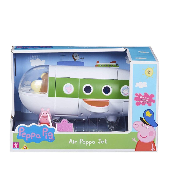 Peppa Pig Figura del Avión de Vacaciones