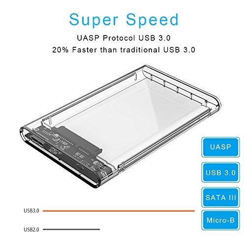 Carcasa Disco Duro externo USB 3.0
