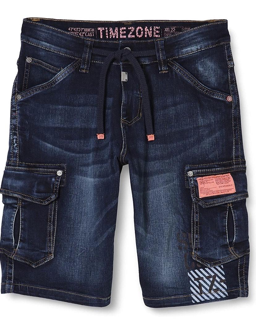 Talla 28W pantalones cortos Timezone Regular Rykertz