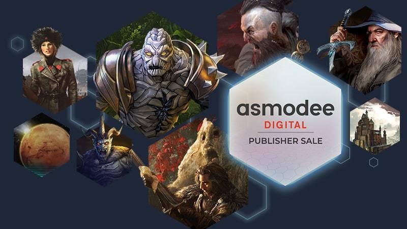 Descuentos en Juegos de Mesa (versión digital) Asmodee (Steam)
