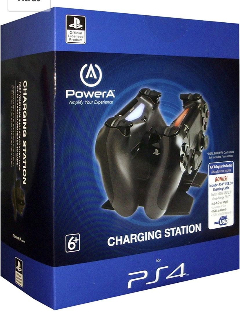 Cargador Station Para Mandos (PS4)