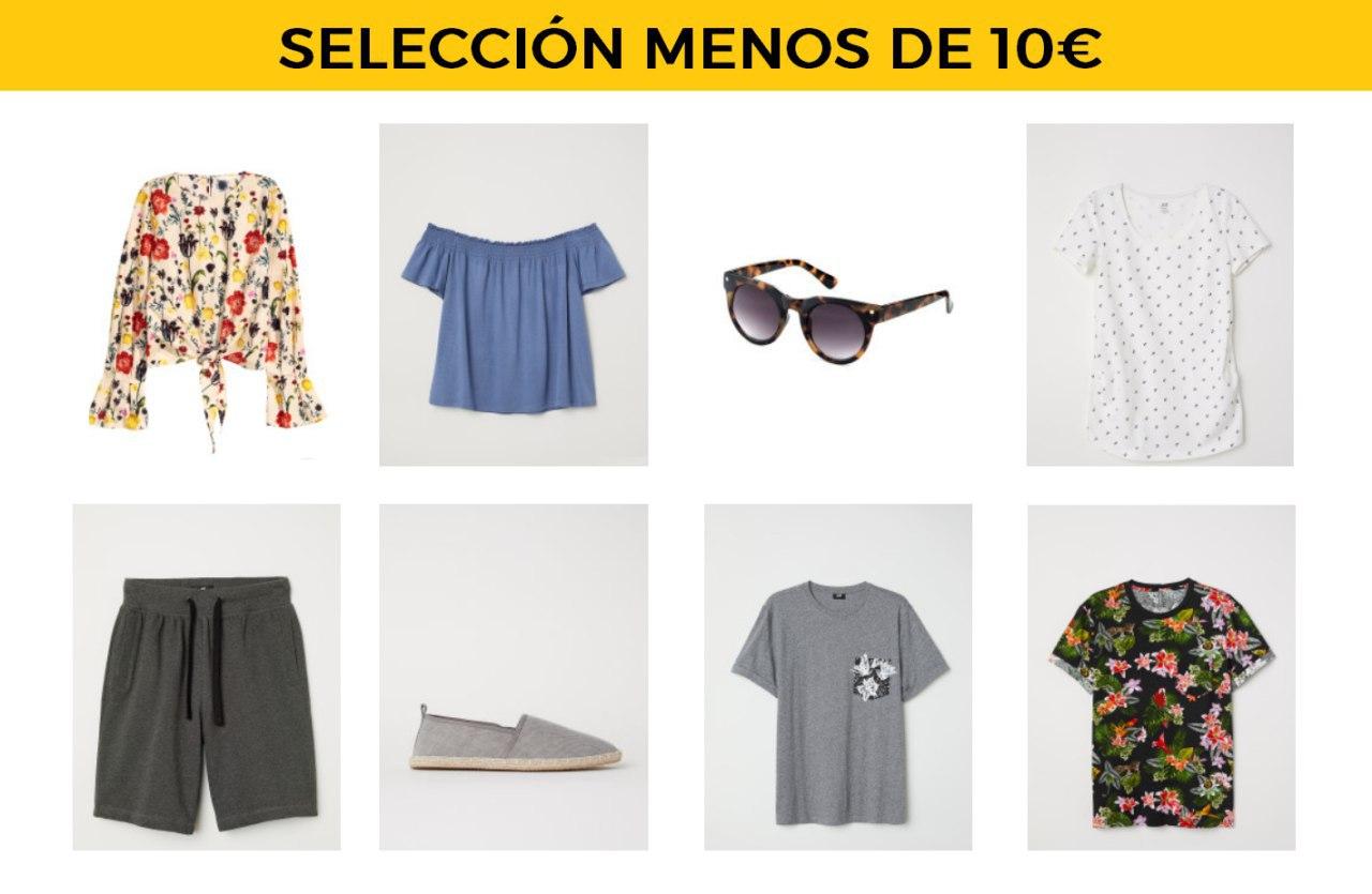 Ropa y accesorios por menos de 10€ en H&M