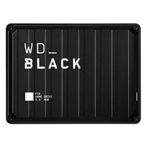 Disco duro 4 TB - WD_Black P10 Game Drive, Compatible con PC y Consolas