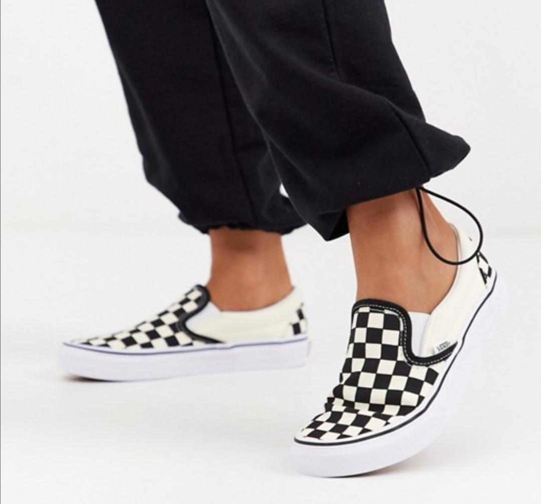 Vans Classic - Zapatillas de deporte sin cierres para mujer