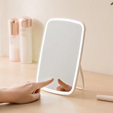 Espejo LED de escritorio para maquillaje portátil ajustable con luz Natural y Control táctil from Xiaomi Youpin
