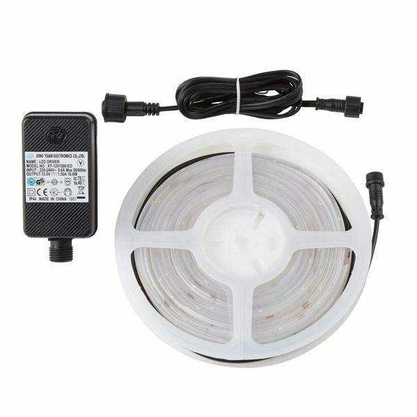KIT TIRA LED 3 m EMMETT 12 W IP65 LUZ BLANCA