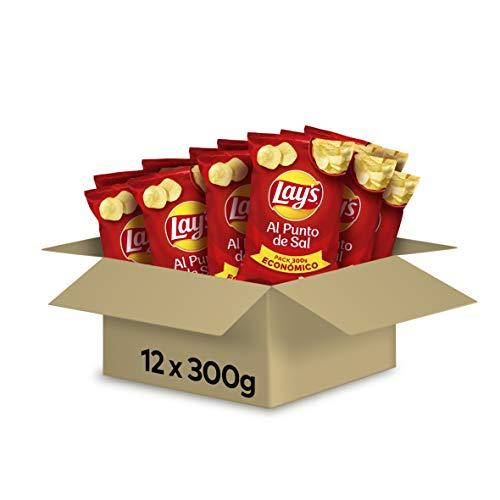 12 bolsas de 300g de Lays por 10,49€, Cheetos Gustosines por 0,63€, Ruffles y almendras a muy buen precio