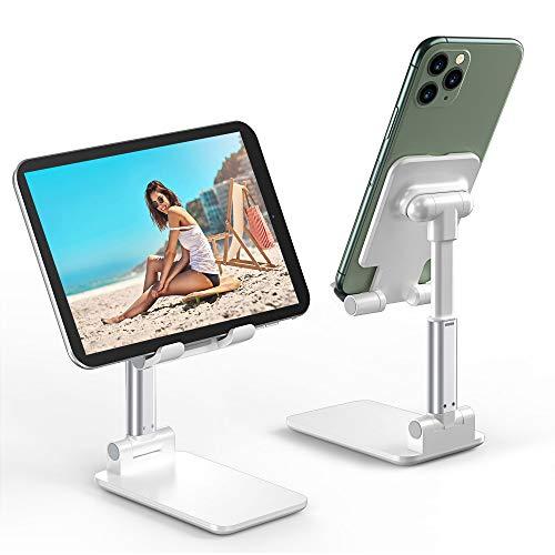 Soporte Teléfono Móvil Soporte Tablet Portátil Soporte Móvil Mesa Plegable Ajustable En Altura