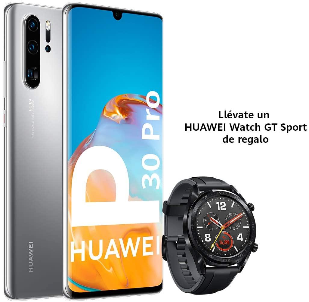 Huawei P30 PRO + Huawei GT SPORT (RAM de 8GB, Memoria Interna de 256GB)