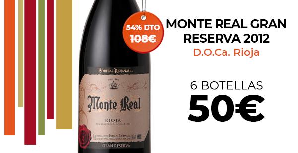 Seis botellas Vino Rioja Gran Reserva a un buen precio