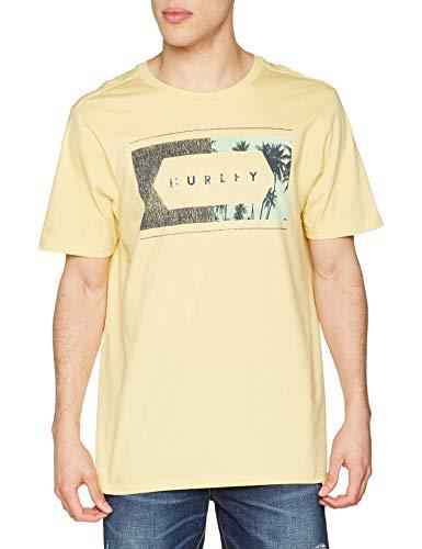 TALLA M - Hurley Frame Work Palm PRM tee SS - Camiseta para Hombre