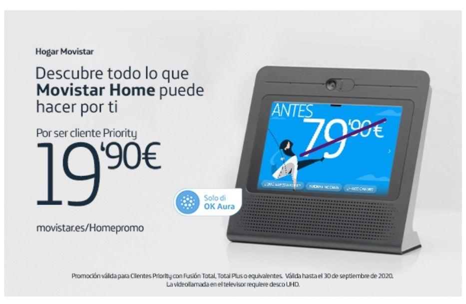 Movistar Home a 19,90€