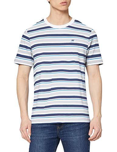 TALLA M - NIKE M NSW tee Stripe - Camiseta de Manga Corta Hombre