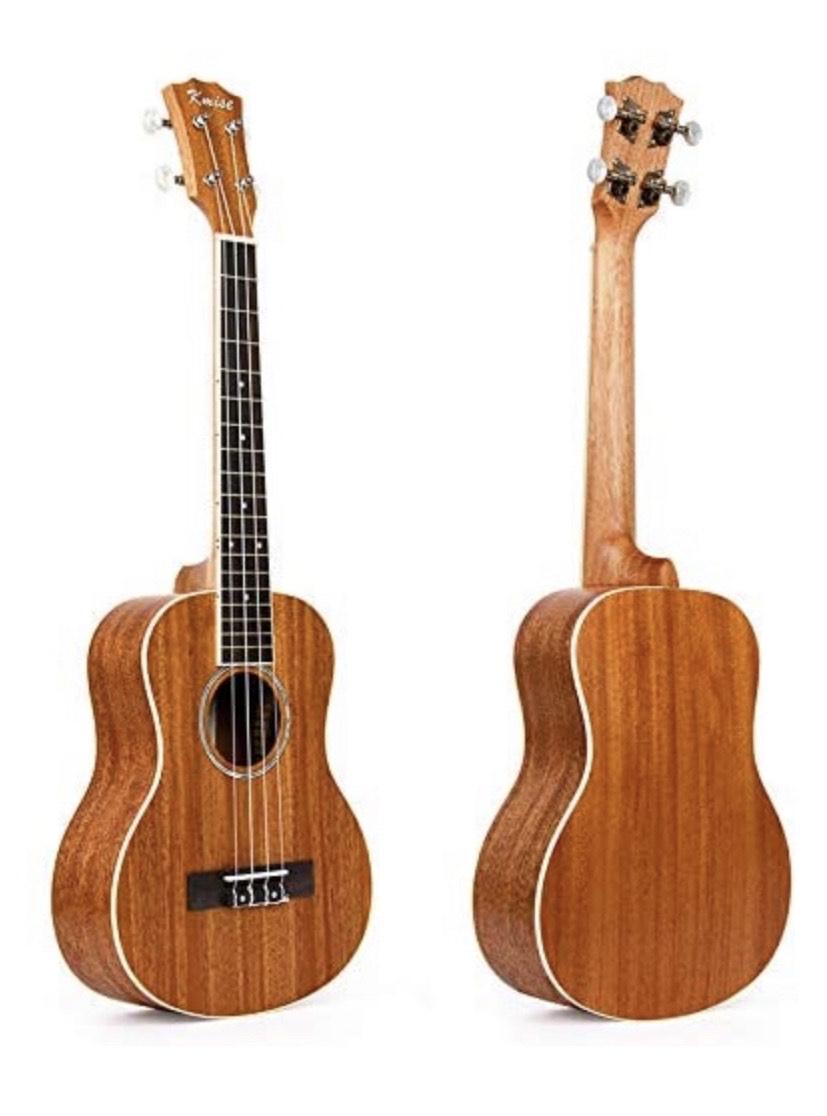 Kmise - Ukelele tenor, 66 cm, madera laminada de caoba, puente de palisandro, mate