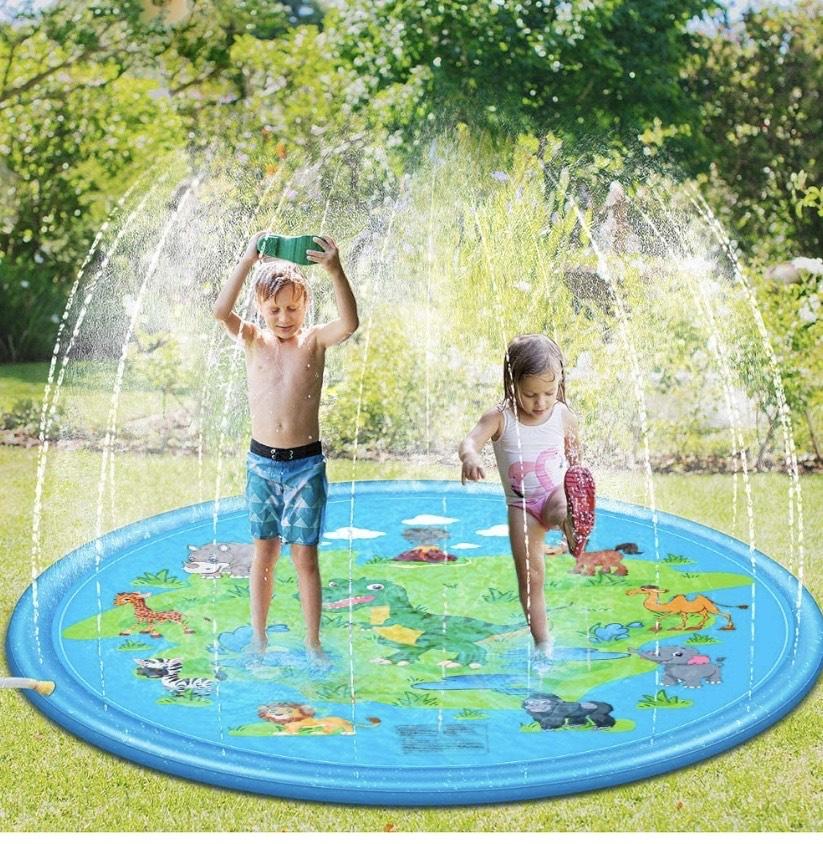 Juego de Salpicaduras y Salpicaduras, 170 cm Water Spray de Agua Espolvoree